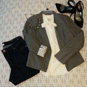 Gray Blazer * shoes & jeans also 4/sale*